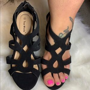 Shoes - Open toe wedges